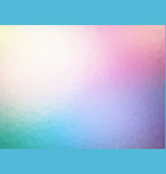 Abstract pastel spectrum triangles geometric vector