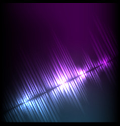 blue-purple diagonal wave abstract equalizer vector image