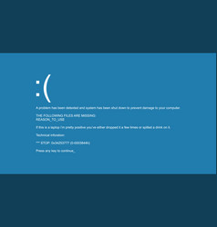 Blue screen of death interrupt request vector