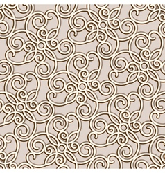 Gseamless lace pattern vector