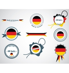 Made in Germany - seals badges vector