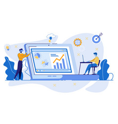 New technologies in educational process innovation vector