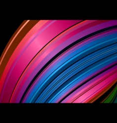 rainbow shell background vector image