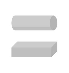 steel rod icon vector image