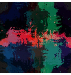 Grunge colorful background vector image vector image