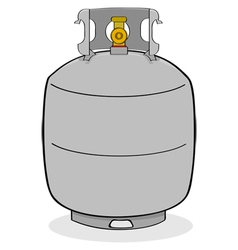 Propane tank vector image vector image