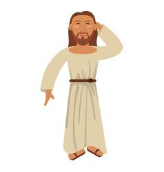 jesus christ hope passion religion vector image