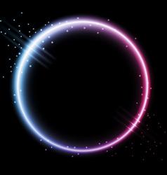 neon background vector image vector image