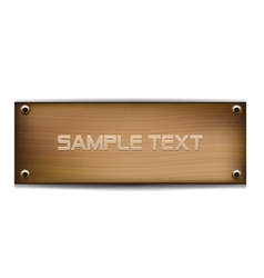 wood template vector image