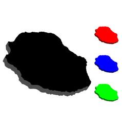 3d map of reunion vector