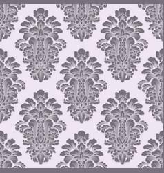 Damask seamless pattern background vector