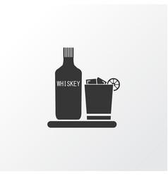 Liqueur icon symbol premium quality isolated vector