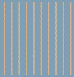 nautical seamless pattern with ropes vector image
