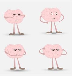 See no evil hear no evil speak no evil brain vector
