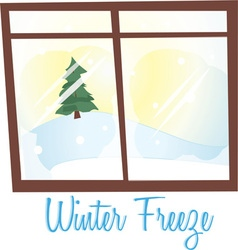 Winter Freeze vector