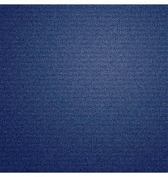 Dark blue jeans texture background vector image