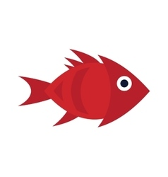 Abstract aquarium fish underwater nature vector image vector image