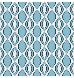 Seamless geometric pattern with diamond shapes vector image vector image
