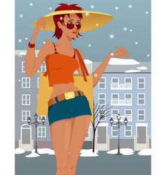 Summer is over vector image vector image