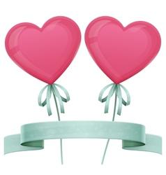 Baloon Heart vector image vector image