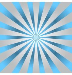 Blue rays gray poster star burst vector