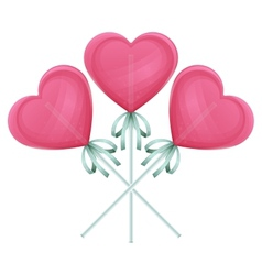 Candy Heart One vector
