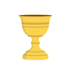 chalice flat design icon vector image