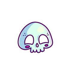 cute little skull vector image