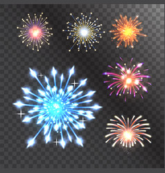firework celebration holiday vector image