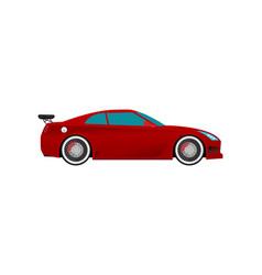 Flat racing car eps 10 vector