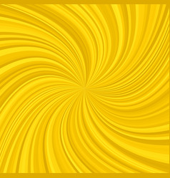 Golden abstract spiral background vector