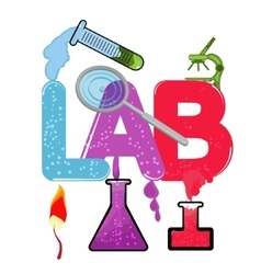 LAB vector image