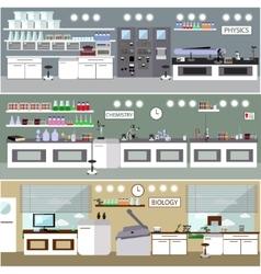 Laboratory Science lab vector