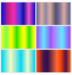 multicolor gradient collection vector image