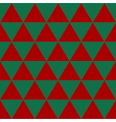 Red Green Triangle Background vector