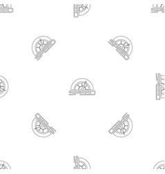 Trendy speedometer pattern seamless vector