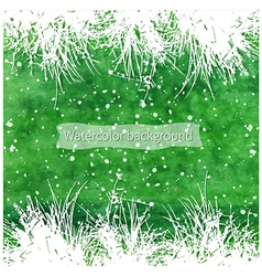 white grass vector image