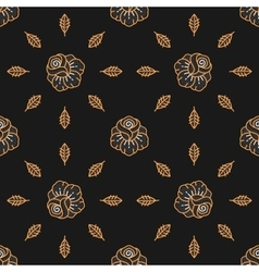 Seamless pattern Skull seamless pattern vector image