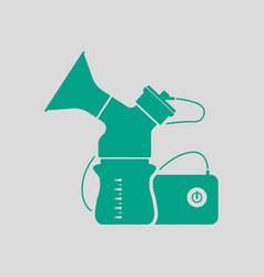electric breast pump icon vector image