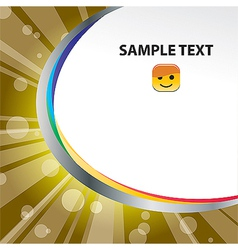 template 09 vector image