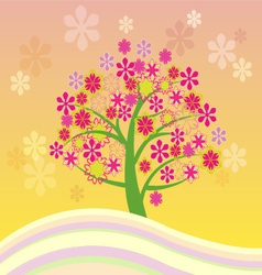 blossom 1 38 vector image