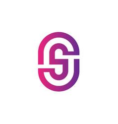 Letter s business logo vector