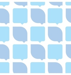 Abstract light blue color seamless pattern vector image