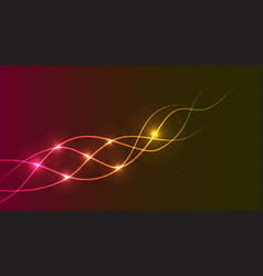 Abstract purple lines background vector