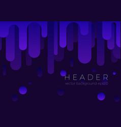 abstract violet flow background design vector image