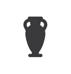 amphora icon vector image