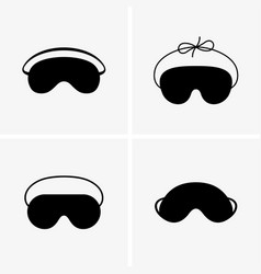 Blindfolds vector