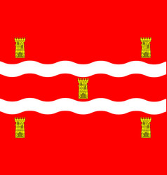 Flag of deux-sevres in nouvelle-aquitaine is the vector