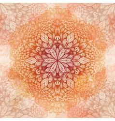 Grunge hand drawn beige seamless pattern vector image