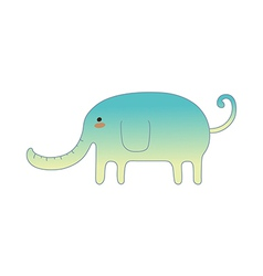 Icon elephant vector